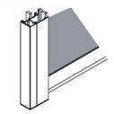 Estores guiados por guías laterales tipo cajón con tapa (40 X 18mm).